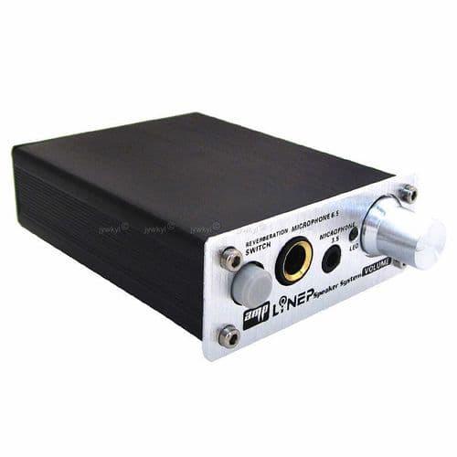 Mini Amplificateur Audio Microphone Réverbération Dual 3,5 et 6,5 mm Port Mic