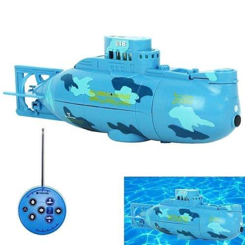 Mini Sous-Marin RC 3.7V Jouet Avec Télécommande Sans Fil Modèle 14cm