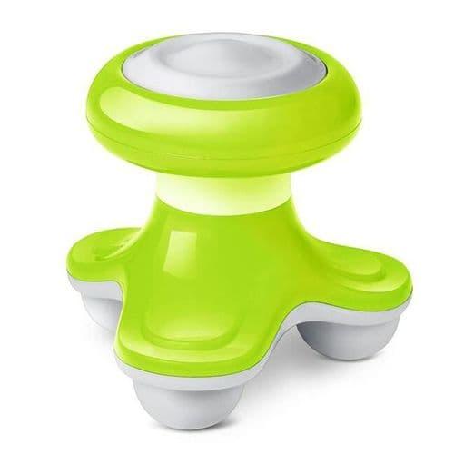Mini USB Appareil de Massage à Batterie Massage Vibrante Vibro Electrique Vert