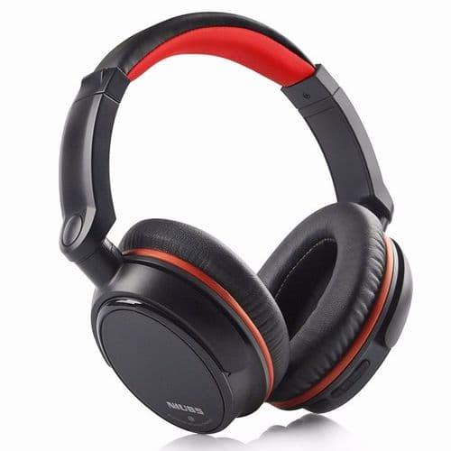 NIUB5-BT6 Casque Sans Fil Filaire Casque Arceau Bluetooth Microphone