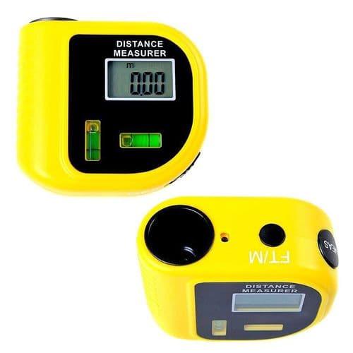 Niveau Et Télémètre Mètre De Mesure Numérique À Ultrason Distance De 18M
