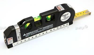 Niveau Laser Aligneur Horizontal Vertical Ruban Mètre