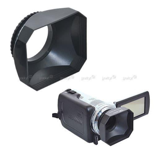 Parasoleil Pare-Soleil pour Objectif 46mm Digital Caméra Vidéo Standard DV