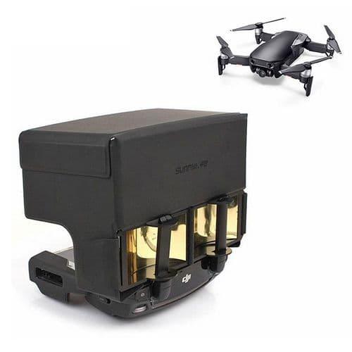 Pare-Soleil + Amplificateur Antenne Pour Dj Mavic Air Pro Spark Radiocommande