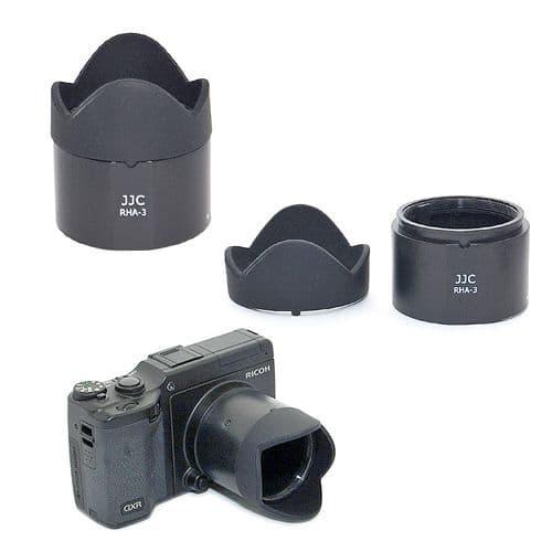 Pare-Soleil Parasoleil Objectif Adaptateur Filtre Ricoh GXR S10 24-72mm f/2.5-4.4 VC