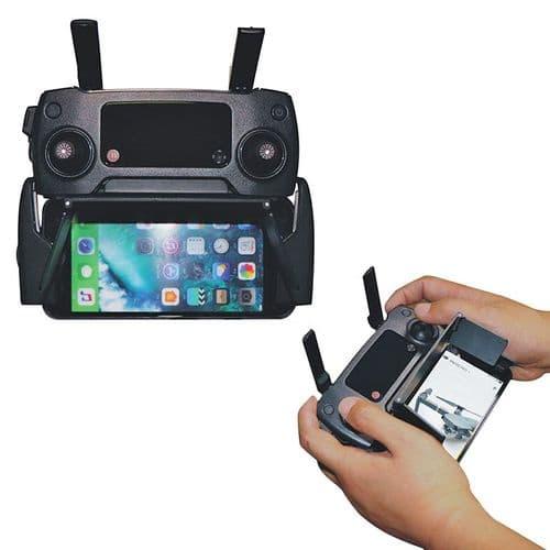 """Pare-Soleil Réglable Smartphone 4"""" À 6"""" Pour Radiocommande Dji Spark Mavic Pro"""