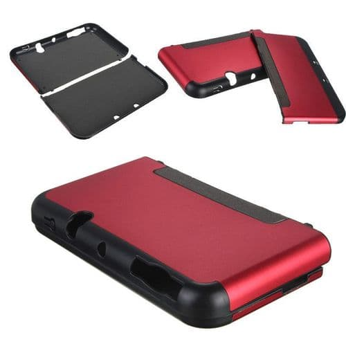 Protection Aluminium Rigide Etui Nintendo NOUVEAU NEW 3DS XL LL Console RD