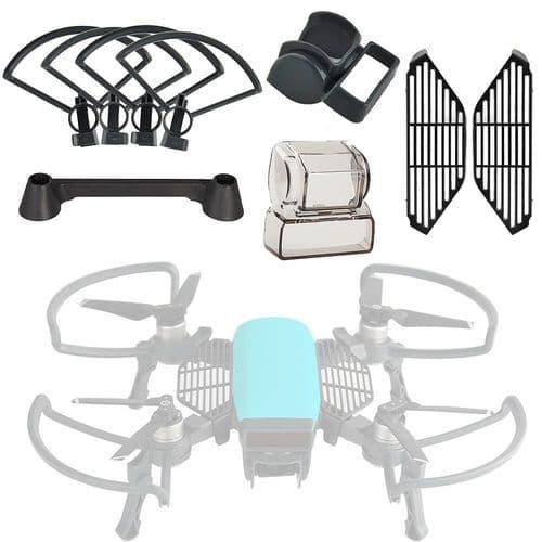Protection Hélices Pied Atterrissage Capot Caméra Joystick Pour Dji Spark Drone