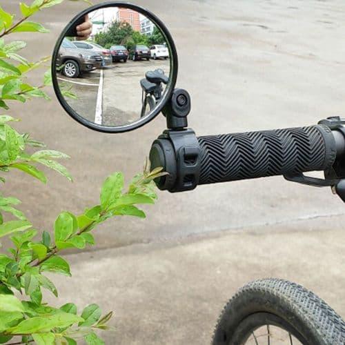 Rétroviseur Miroir Pour Bicyclette Vélo Sécurité Du Cycliste
