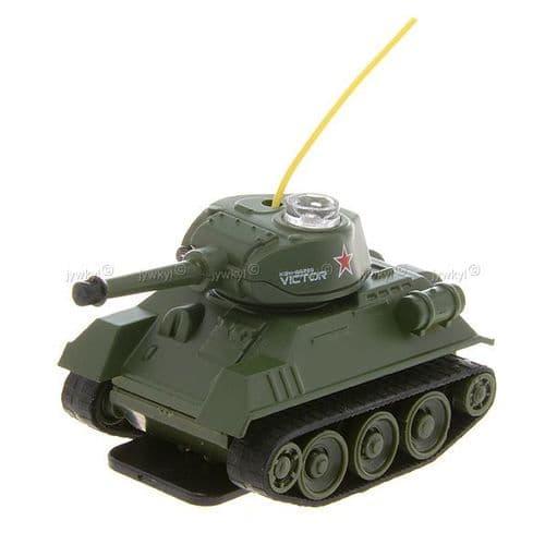 Radio Télécommandé RC Mini Tank de Guerre Modèle Miniature Jouet 378