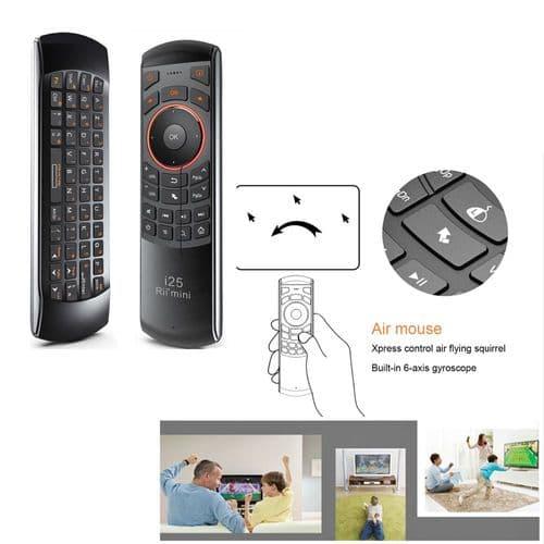 Rii Mini I25 2.4Ghz Télécommande Sans Fil Mini Clavier Touchpad_Français Azerty