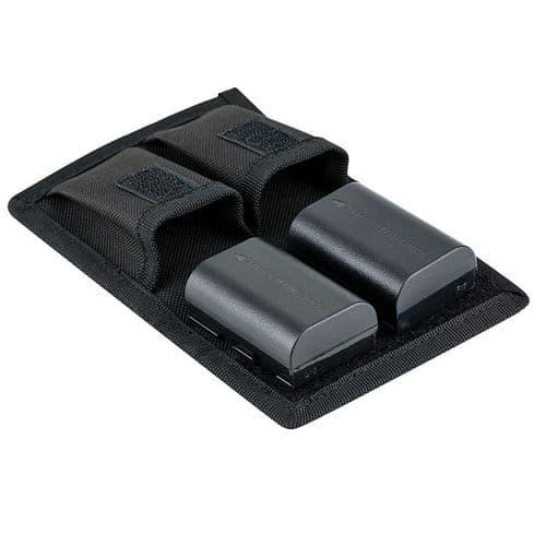 Sacoche De Transport Pour 2 Batteries Dslr Et 2 Cartes Mémoire Sd / Xqd / Cf