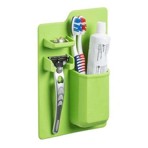 Salle de bains rangement rasoir dentifrice organisateur salle de bains silicone