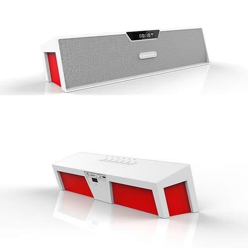 SDY-019 Enceinte Bluetooth FM Radio Lecteur De Carte Mémoire USB Alarme Réveil