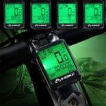 Speedomètre Vélo Bicyclette Sans Fil Vélo Compteur Kilométre Chronomètre Étanche