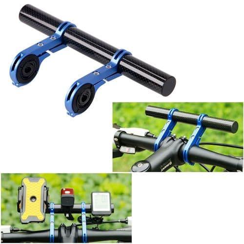 Support Barre Guidon De Bicyclette Vélo Support Bar Pour Lampe De Torche Mobile