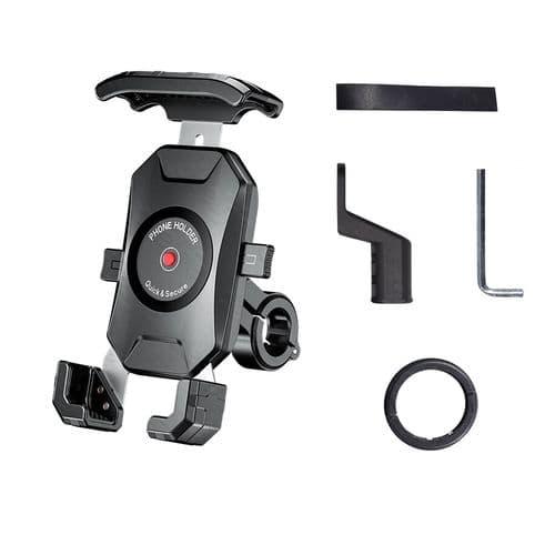 Support De Smartphone Téléphone Mobile Portable Pour Guidon Moto Vélo Universel