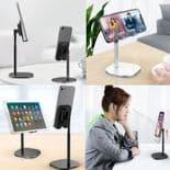 Support De Téléphone Portable Tablette Support Sur Bureau Hauteur Extensible