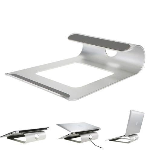 Support En Aluminium Pour Ordinateur Portable Pour Macbook Notebook Tablette Pc