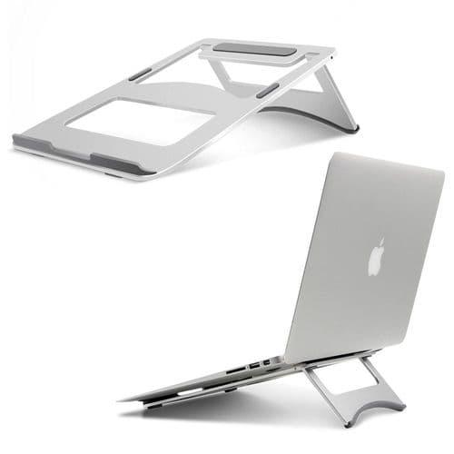 Support En Aluminium Pour Ordinateur Portable Pour Tablette Macbook Notebook