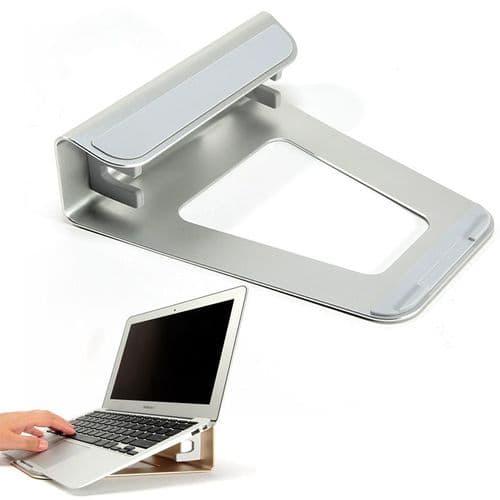 Support Horizontal Vertiical Pour Ordinateur Portable En Aluminium 2 Fonctions