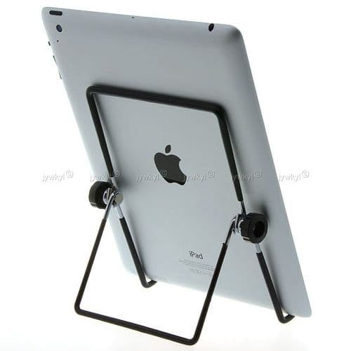 """Support Pied en Acier Pliable pour iPad et Tablette PC 5"""" à 10"""" Samsung Asus"""