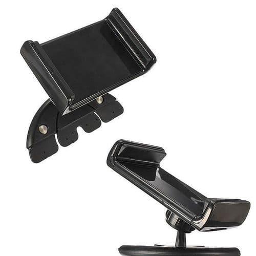 Support Pour Smartphone Sur Fente Lecteur CD Voiture Auto Universel 88-136mm