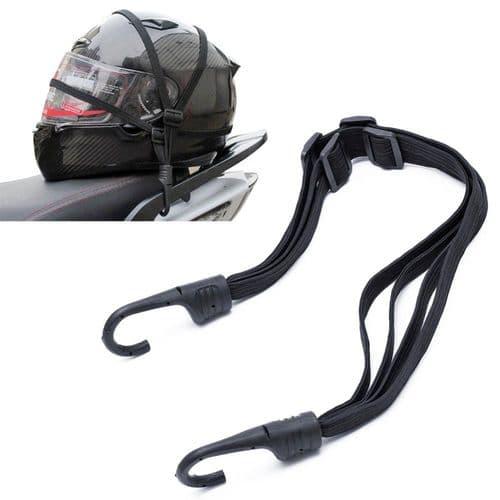 Support Sangle Élastique Corde Flexible De Support Pour Casque De Moto Objets
