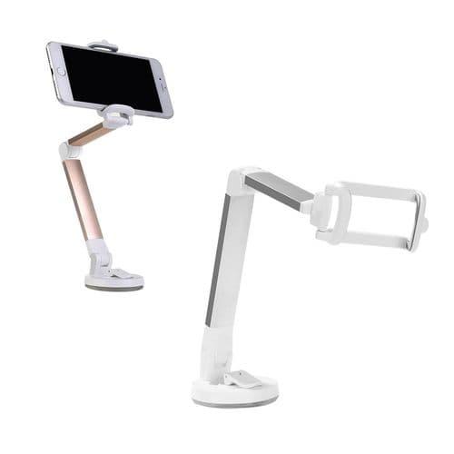 Support Téléphone Portable Angle Réglable Support À Ventouse De Bureau Solide