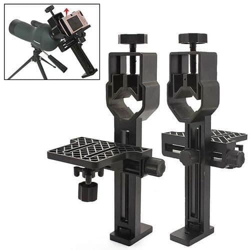 Support Universel Appareil Photo Compact pour Monture Télescope Monoculaire