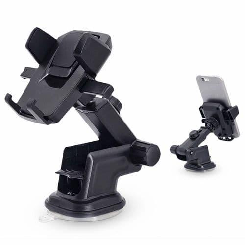 Support Ventouse Réglable Rotatif Pare-Brise Auto Gps Smartphone 3.5-6 Pouces