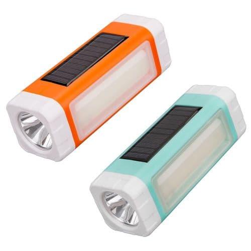 Torche Lampe Solaire USB LED Lecteur Mp3 FM Radio Chargeur De Batterie Mobile