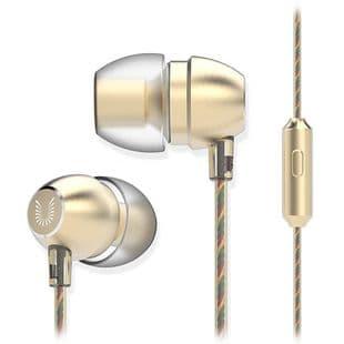 UiiSii HM7 Ecouteurs Intra-Auriculaires Super Bass 35mm Microphone Métal