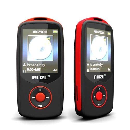 UIZU X06 Bluetooth Baladeur Lecteur Audio MP3 4Go Enregistreur Vocal Radio RD
