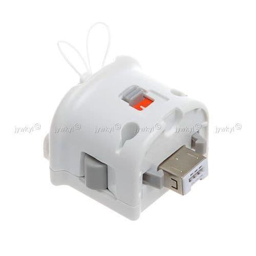 Unité Motion Plus pour Manette Remote Wiimote Console de Jeu Nintendo Wii
