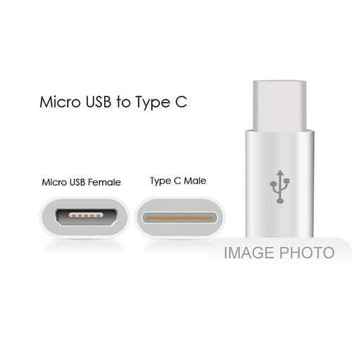 USB-C 3.1 Type C Mâle vers Micro USB Femelle Adaptateur pour Smartphone