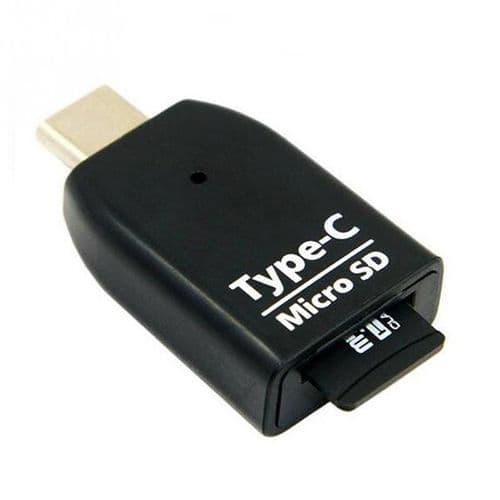 USB-C USB Type C USB 3.1 OTG Adaptateur Lecteur Carte SD TF Micro SD