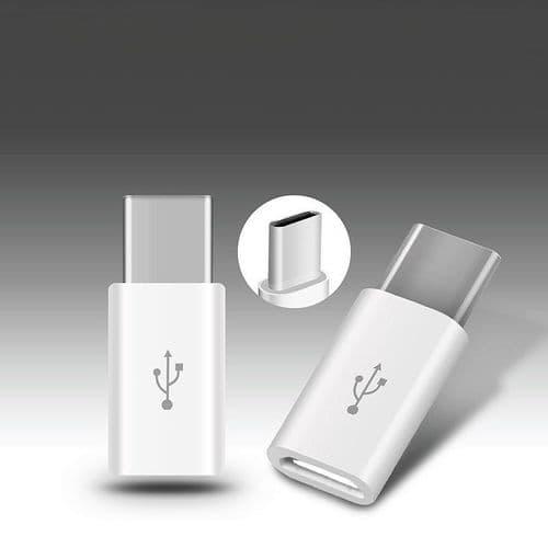USB Type C 3.1 Adaptateur USB-C Mâle Vers Micro USB Femelle Connecteur
