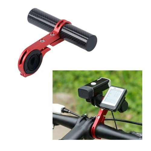 Vélo Guidon Support Étendu Barre De Montage De Vélo Pour Téléphone Torche