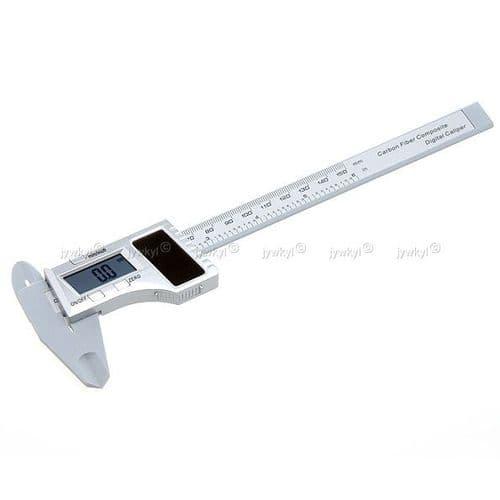 """Vernier Solaire Digital 150mm 6"""" avec Ecran LCD Micromètre"""