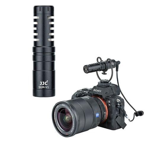 Vloggers Microphone Cardioïde Pour Appareil Photo Et Caméscope Smartphone Tablet
