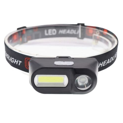 Xpe + Cob Led Lampe Lampe Frontale Etanche Charge Usb Camping Bricolage