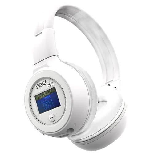 ZEALOT B570 Casque Arceau Écouteurs Bluetooth Microphone Radio FM Fente Carte TF