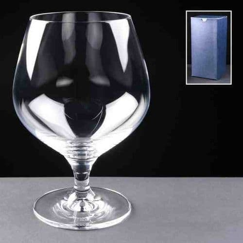 18oz Large Brandy Glass Personalised