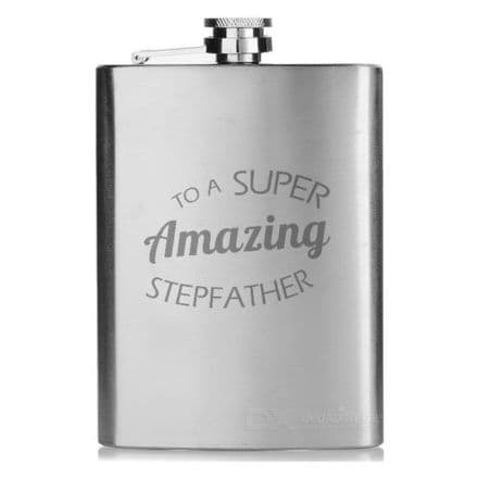 8oz Hipflask Personalised