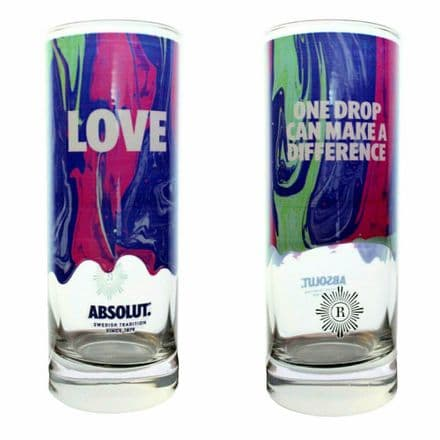 Absolut Vodka Highball Glass Personalised