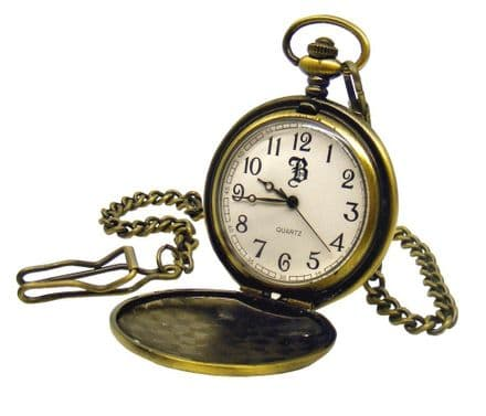 Antique Effect Pocket Watch Personalised