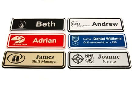 Badges Personalised