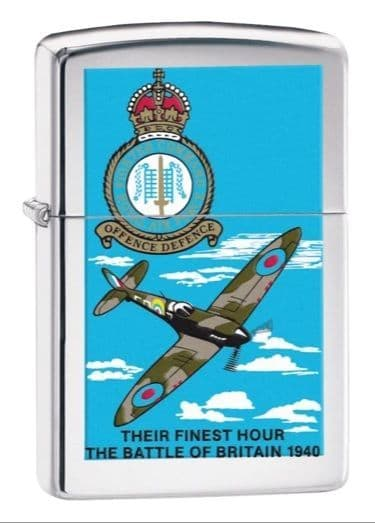 Battle of Britain Zippo Lighter Personalised