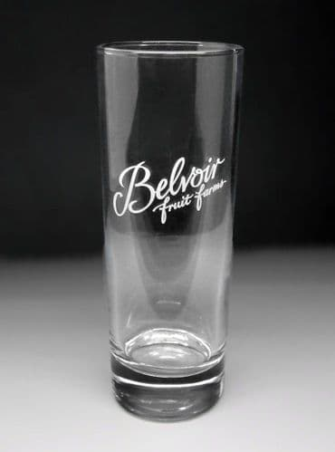 Belvoir Fruit Farms Cordial Highball Glass Personalised